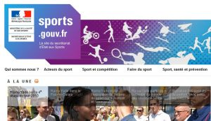 Site officiel : http://www.sports.gouv.fr
