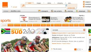 Site officiel : http://sports.orange.fr
