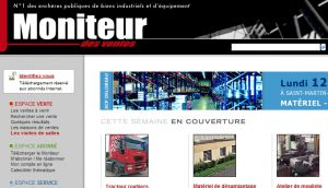 Site officiel : http://www.moniteur.net