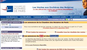 Site officiel : http://www.encheres-paris.com