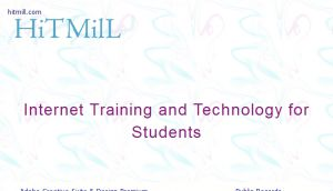 Hitmill.com - Internet Training and Technology for Students