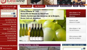 Site Officiel www idealwine com