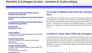 Site officiel : http://www.echanges-de-liens.info