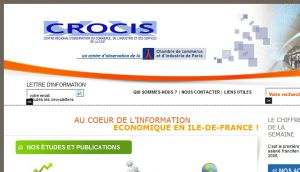 Site officiel : http://www.crocis.ccip.fr