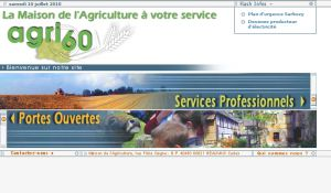 Site officiel : http://www.agri60.fr
