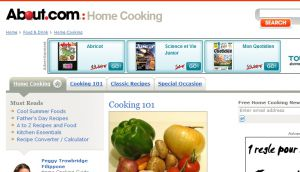 Site officiel : http://homecooking.about.com