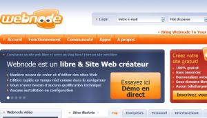 Site officiel : http://www.webnode.fr