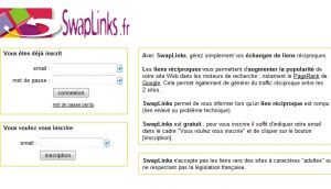 Site officiel : http://www.swaplinks.fr
