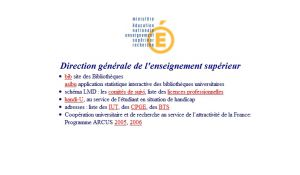Site officiel : http://www.sup.adc.education.fr