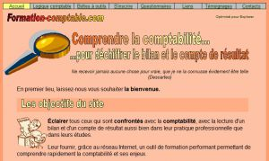 Site officiel : http://www.formation-comptable.com