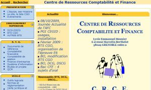 Site officiel : http://crcf.ac-grenoble.fr