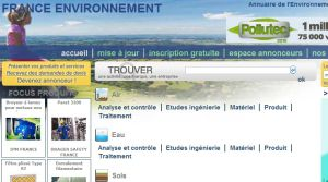 Site officiel : http://www.franceenvironnement.com