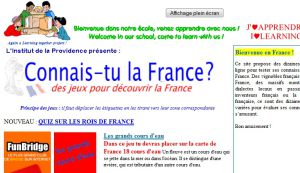 Site officiel : http://www.france.learningtogether.net