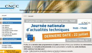 Site officiel : http://www.cncc.fr