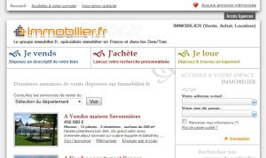 Site officiel : http://www.immobilier.fr