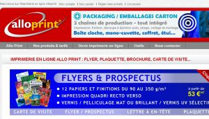 Site officiel : http://www.alloprint.com