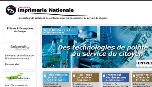Site officiel : http://www.imprimerienationale.fr