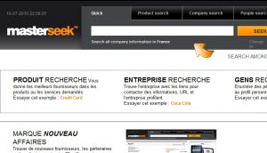 Site officiel : http://www.masterseek.fr