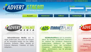 Site officiel : http://www.advertstream.com