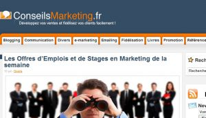 Site officiel : http://www.conseilsmarketing.fr