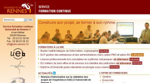 Site officiel : http://sfc.univ-rennes1.fr