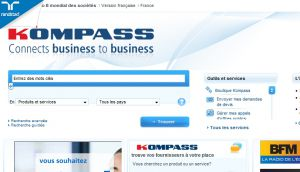 Kompass: Company search engine - Products & services Classification