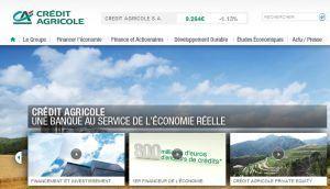 Site officiel : http://www.credit-agricole.com