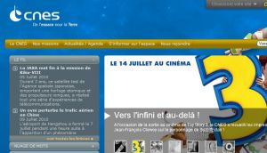Site officiel : http://www.cnes.fr