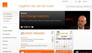 Site officiel : http://www.orange.com