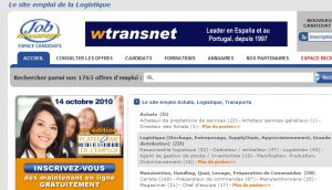 Site officiel : http://www.jobtransport.com