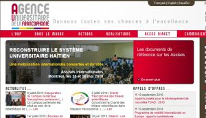 Site officiel : http://www.auf.org
