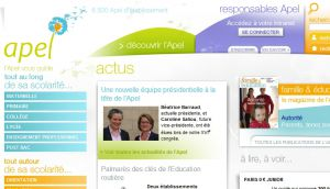 Site officiel : http://www.apel.fr