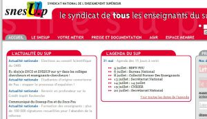 Site officiel : http://www.snesup.fr