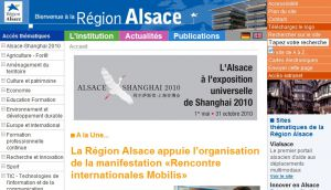 Site officiel : http://www.region-alsace.eu