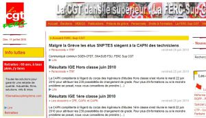 Site officiel : http://www.ferc-sup.cgt.fr