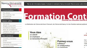 Site officiel : http://www.fc.nancy-universite.fr