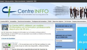 Site officiel : http://www.centre-inffo.fr