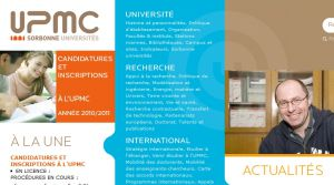 Site officiel : http://www.upmc.fr