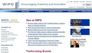 Site officiel : http://www.wipo.int