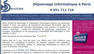 Site officiel : http://www.hdservices.fr