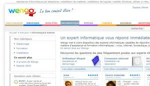 Site officiel : http://informatique-internet.wengo.fr