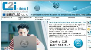 Certification Informatique et Internet (C2i) - Université du sud Toulon-Var -