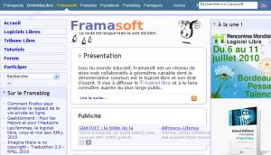Site officiel : http://www.framasoft.net