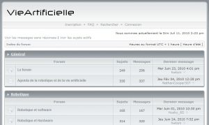 Site officiel : http://www.vieartificielle.com