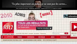 Site officiel : http://www.rtl2.fr