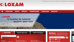 Site officiel : http://www.loxam.fr