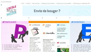 Site officiel : http://www.ecole-multimedia.com