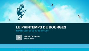 Site officiel : http://www.printemps-bourges.com