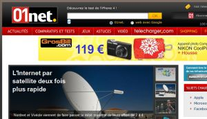 Site officiel : http://www.01net.com