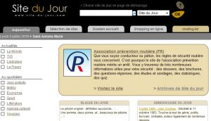 Site officiel : http://www.site-du-jour.com